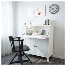bureau metal ikea hemnes bureau white stain 89x108 cm ikea
