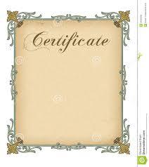 blank certificate pdf templates
