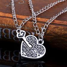 lock key pendant necklace images New arrival 1 pair heart lock key pendant charm necklace best jpg