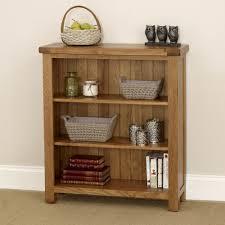low narrow bookcase oak low bookcase