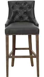 black leather counter stools home design ideas