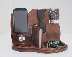 gift ideas for husband personalized men gift wooden phone stand phone dockdocking