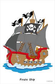 pirate ship barco pirata josé castro ilustrador