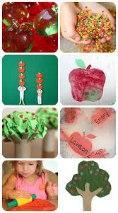 apple ideas for kids sensory snacks art learning
