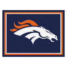Plush Area Rug by Broncos 1 4