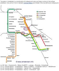 Amsterdam Metro Map by Icca Research Sales And Marketing Programme 2013 Amsterdam The