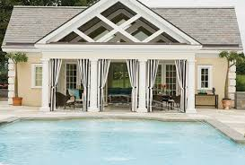 modern style pool house designs design ideas equipped with open