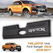 logo ford 2017 matte black tailgate cover grey raptor logo ford ranger mk2 px2