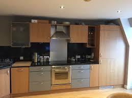 used l shape kitchen with smeg appliances approx 8 years old in used l shape kitchen with smeg appliances approx 8 years old
