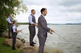 Wedding Boutonniere Fishing Wedding Boutonnieres