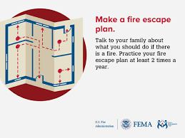 home escape plan home escape planning sandy spring volunteer fire department
