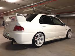 evo spoiler my cs lancer to evo7 project pics have started trinituner com