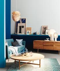 sofa schã ner wohnen blau petrol holz bild 2 schöner wohnen