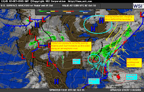 frontal boundary map hurricane joaquin 11am update 10 2 15 for charleston sc and the