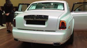 rolls royce gold and white this is the very last rolls royce phantom vii autoblog