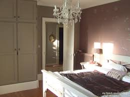 my french country home handpainted walls and mangle irons