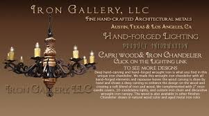Chandeliers Austin Iron Works Iron Door And Gates Iron Lighting And Fine Hand Forged