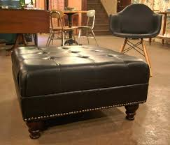 round leather tufted ottoman awesome round leather ottoman coffee table round leather tufted