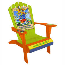 Pool Chairs For Sale Design Ideas Handcrafted Adirondack Chair With Colorful Margaritaville Design