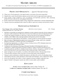 Resume Sample For Assistant Manager by Food Production Manager Sample Resume Forklift Repair Sample