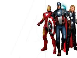 free download 3d avengers powerpoint backgrounds and templates