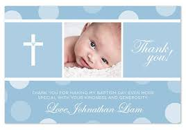 baptism thank you wording what to write in baptism thank you card thank you card exle
