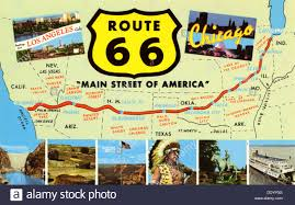 Map Of Route 66 From Chicago To California by Route 66s Journey Through Missouri Road Trip Usa Fileindian