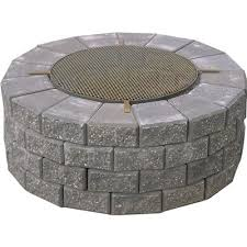Firepit Grate Expocrete Pit With Cooking Grate Lowe S Canada