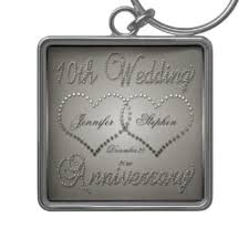 10th year wedding anniversary 10th wedding anniversary key rings 10th wedding anniversary key