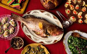 whole roasted fish with mushrooms recipe nyt cooking
