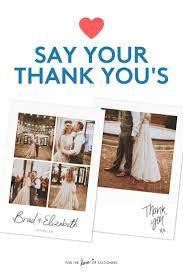 wonderful wedding thank you cards 17 best ideas about wedding