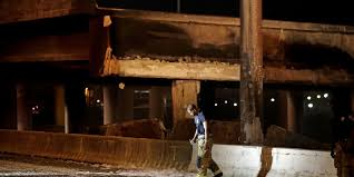Christopher Burton Homes by I 85 Bridge Collapse In Atlanta Effectively U0027puts A Cork In The