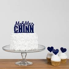 name cake topper personalised wedding surname name cake topper funky laser