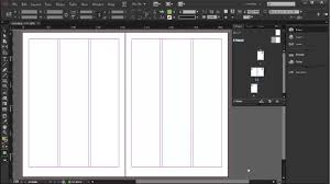 setting up a newsletter indesign cc tutorial 8 20 youtube