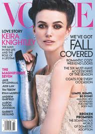 poise and passion keira knightley on the october cover of vogue