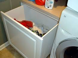 Bathroom Cabinet With Built In Laundry Hamper Custom Built In Laundry Hamper Laundry Pinterest Laundry