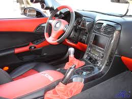 Corvette C6 Interior C6 Black Carbon Parts U2013 Interior U2013 Complete Interior Package