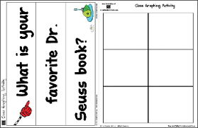favorite dr seuss book graphing printables teacher stuff