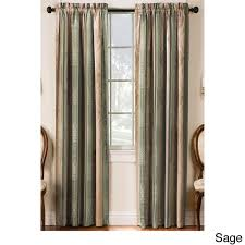 tuscan thermal backed blackout curtain panel pair free shipping