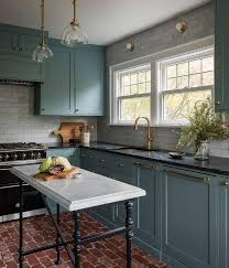 green base cabinets in kitchen blue base kitchen cabinets design ideas