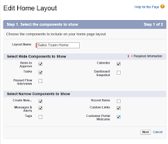 customize home customize the salesforce home page to fit your needs ledgeview