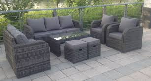 Garden Chairs And Table Png 9 Seater Rattan Garden Furniture Set Sofa Reclining Chairs