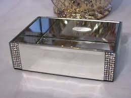 Bella Lux Bathroom Accessories by Bella Lux Mirror Rhinestone Crystal Lotion Soap Dispenser Bathroom