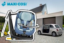 siege auto 4 ans et plus siège auto axissfix plus pivotant 360 isofix jusqu à 4 ans maxi cosi