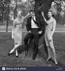 billy fury with co stars jackie sands right and karen andrews who