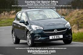 courtesy car contract hire and lease deals
