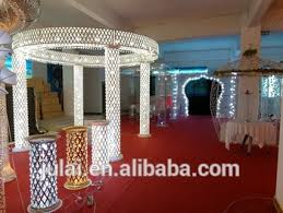 Pillars And Columns For Decorating Small Lighting Wedding Walkway Pillar Or Column For Weding