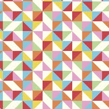 wrapping paper sheets multicolour geometric wrapping paper 5 sheets rex london