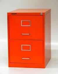 Orange Filing Cabinet More Orange For The Home Pinterest Vintage Furniture