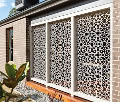 decorative metal garden privacy screen panels screens makeovers
